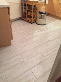 New Kitchen Floor With Under Floor Heating